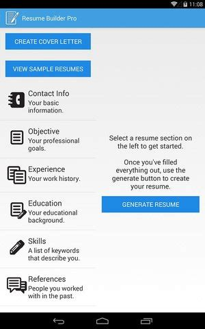 Free Resume Builder I Can Email by The Top 7 Apps For Your Search Vault Blogs Vault