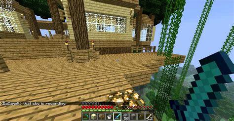 biggest minecraft tree house  youtube