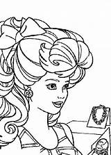 Coloring Jewelry Woman sketch template