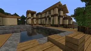 Minecraft Modern Mansion Minecraft Project