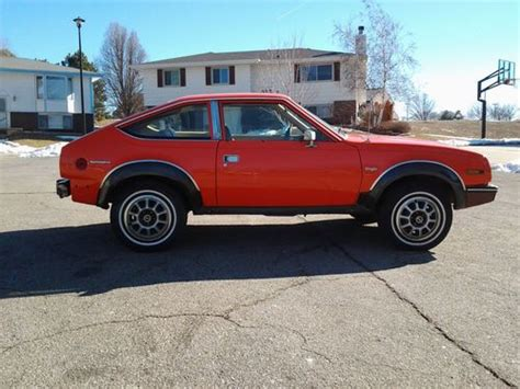 Amc Eagle Sx4 For Sale by Purchase Used Amc Eagle Dl 50 Sx4 In Lincoln Nebraska