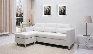 detroit white convertible sectional sofa and ottoman set With mancini modern sectional sofa and ottoman set