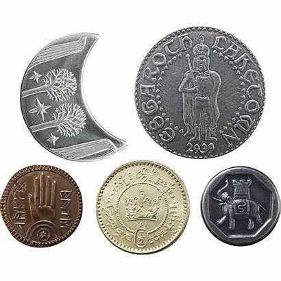 Coins Lord Rings Middle Earth Shire Five