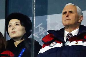 VP Pence close encounter with Kim Yo Jung – PARADIGM DAILY