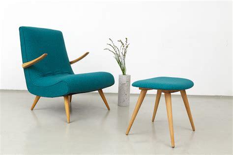 50 Er Jahre Sessel by Magasin M 246 Bel 187 50er Jahre Sessel Mit Hocker 497
