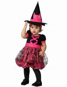 Deguisement Halloween Bebe : d guisement b b sorci re rose halloween deguise toi ~ Melissatoandfro.com Idées de Décoration
