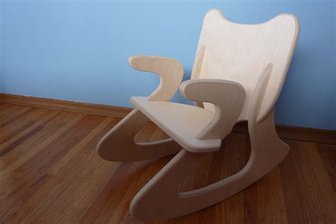 plywood rocking chair plans  woodworking