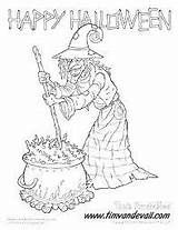 Witch Pages Coloring Google Halloween Adult Happy Wicked sketch template