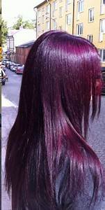 rock your hair with purple color the haircut web