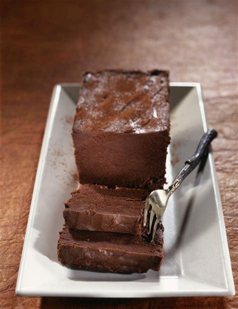 marquise en cuisine marquise au chocolat recettes à table
