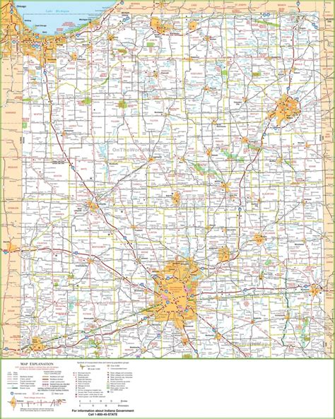 map  northern indiana
