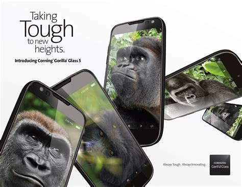 corning s stronger gorilla glass 5 is hitting devices