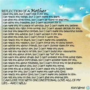 Reflection of a mother. | Quotes that I love | Pinterest