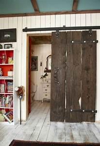 Zimmertüren Holz Landhausstil : gleitt ren selber bauen diy schiebet ren im landhausstil ~ Frokenaadalensverden.com Haus und Dekorationen