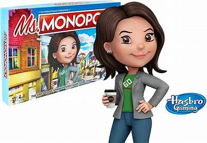 Monopoly Ms Board Trailblazers Celebrating Hasbro Card