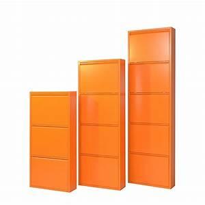 Schuhkipper Metall 3 Klappen : schuhschrank akestor metall orange mit 3 klappen h103 cm ~ Bigdaddyawards.com Haus und Dekorationen