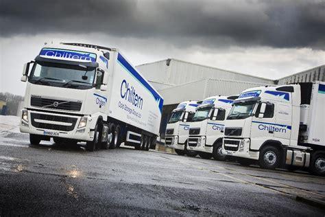chiltern cold storage takes delivery  volvo trucks