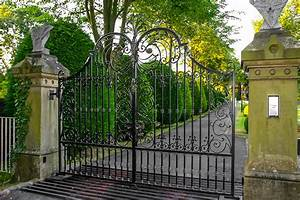 Blenheim Wrought Iron Gates
