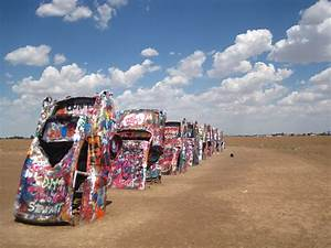Cadillac Ranch Haikutravelers