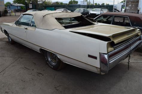 1970 Chrysler 300 Convertible For Sale by 1970 Chrysler 300 Convertible Hurst Package Upgrade