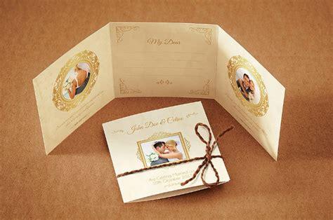 Tri Fold Wedding Invitation Template 17 Free And Premium