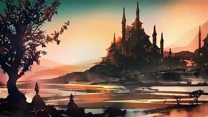 Fantasy 4k Concept Landscape Digital Wallpapers