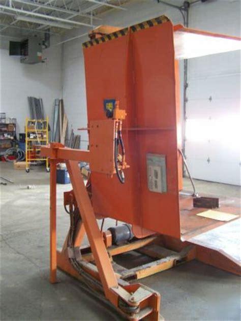 paynes pallet inverter  deg rotator load transfer