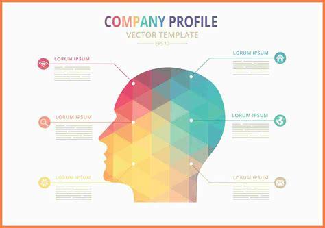 company profile design template company letterhead