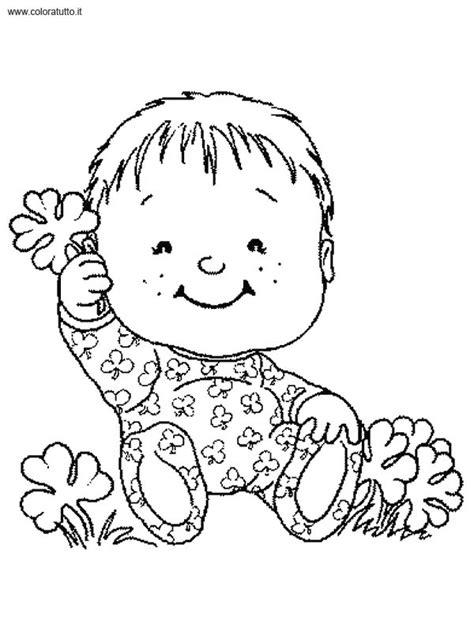disegni bebe da stare bebe 8 disegni per bambini da colorare