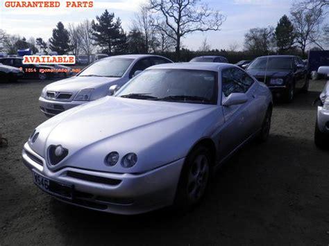 Alfa Romeo Gtv Breakers, Gtv T Spark Dismantlers