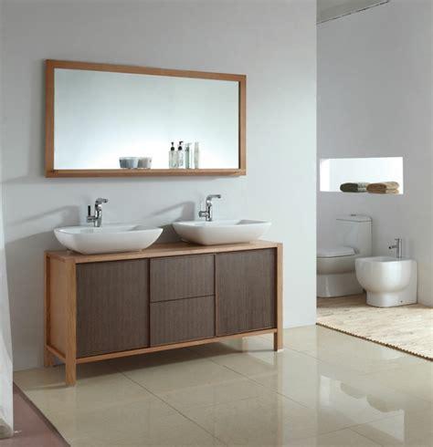 Waschtisch Zwei Waschbecken by 70 Einmalige Modelle Waschtisch Aus Holz