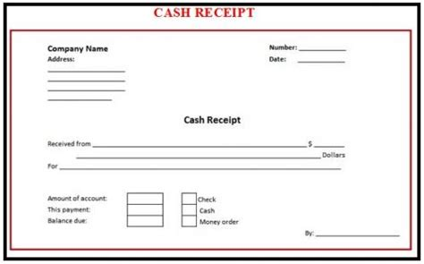 Free Cash Receipt Templates For Your Business By Omair Iqbal