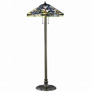 serena d39italia tiffany calla lilly 60 in bronze floor With tiffany style calla lily floor lamp