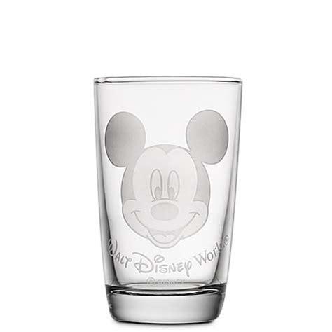 Disney World Juice Glass   Mickey Mouse   by Arribas