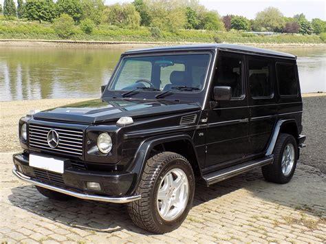 mercedes g wagon classic chrome mercedes benz g500 g wagon 2001 51 black