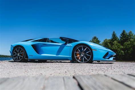 world premiere lamborghini aventador sv roadster start up revs driving youtube 2018 lamborghini aventador s roadster review autoguide com