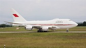 Boeing 747SP (A9C-HAK) take of at Ferihegy - YouTube