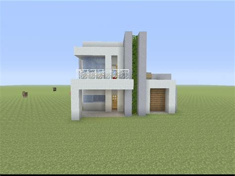 minecraft modern house blueprints minecraft small modern house designs small modern house minecraft build building a modern house