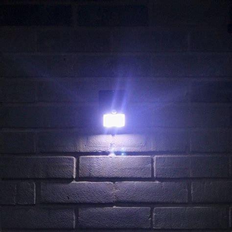 bright outdoor solar lights motion sensor detector no
