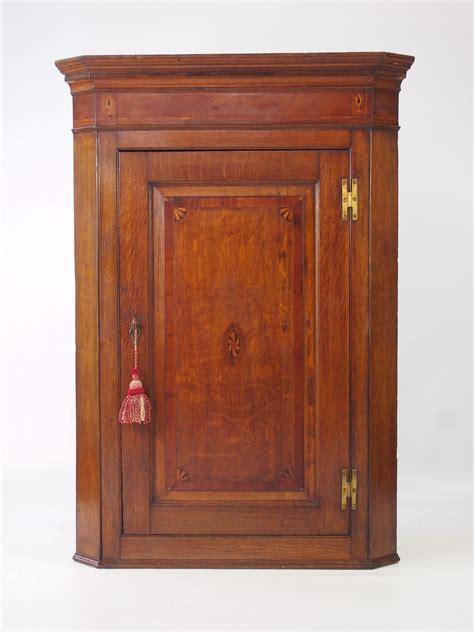 Georgian Corner Cupboard by Antique Georgian Oak Corner Cupboard