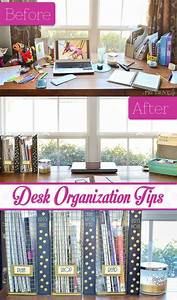 Great Tips To Keep Your Desk Organized  Functional  And Pretty