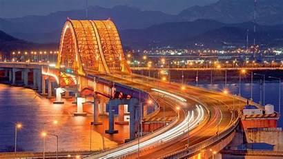 Seoul Korea South Wallpapers Bridge Cave