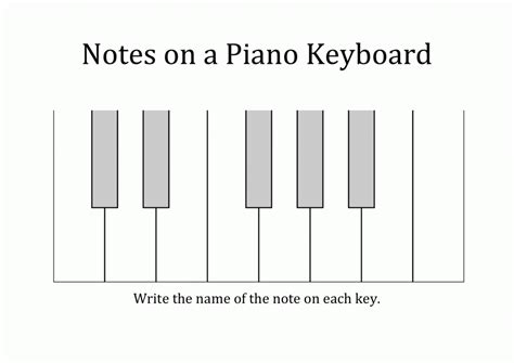 beginner piano theory worksheets worksheets for all