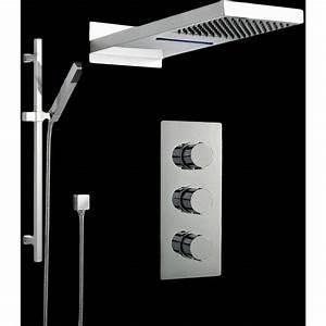Kit Douche Encastrable : colonnes de douches hudson reed achat vente de ~ Edinachiropracticcenter.com Idées de Décoration