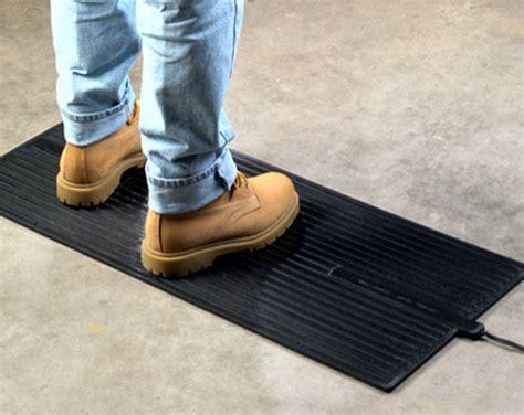 heated floor mats foot warmer mat for standing or desk use
