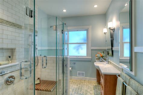 Berkeley Traditional Universal Design Bathroom