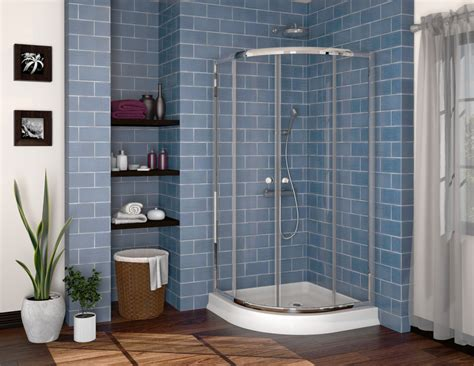 tile ideas for a small bathroom fleurco alina semi frameless corner shower door 36 quot x36 quot x70 quot ebay