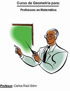 Curso de geometría para profesores en matemática Monografias