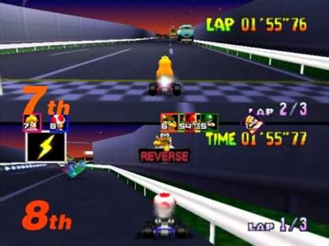 mario kart 64 toad s turnpike lapped challenge