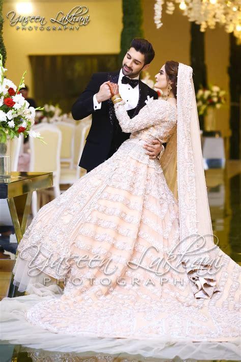 beautiful pictures  aiman khan wedding reception